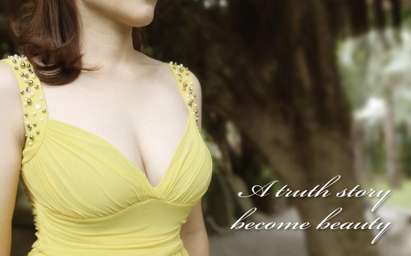 現在的我,對自己的身材更有自信,也變得更加有女人味了。