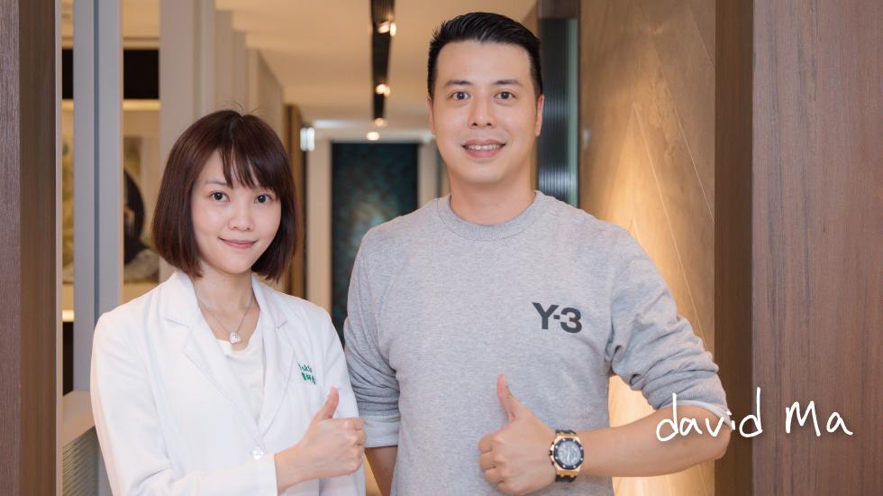 """陳清筠醫師,讓我想到老婆最愛看的""""太陽的後裔"""",女主角也是個美女醫師"""