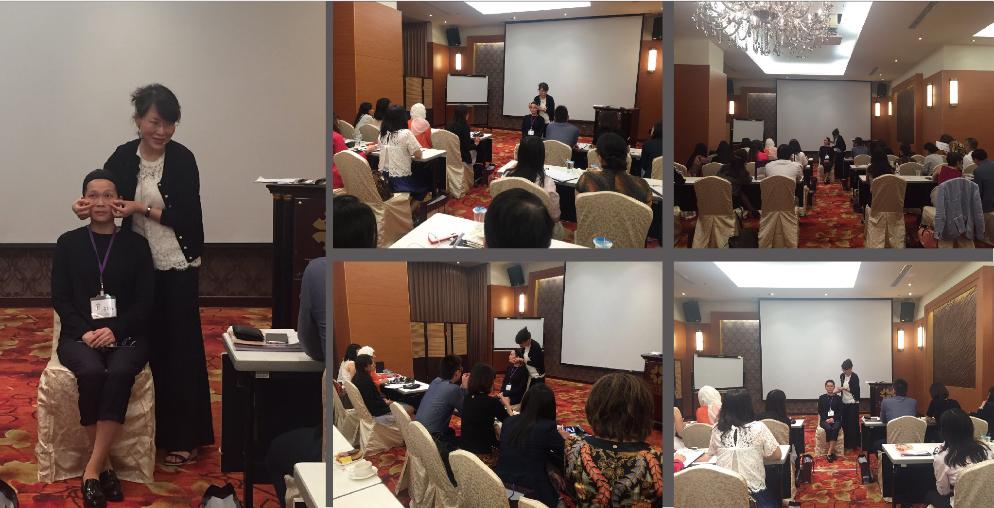 盧靜怡院長受邀親身指導印尼醫師施打玻尿酸並分享教學心得