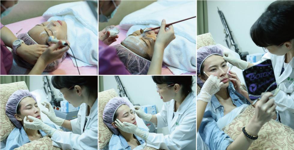 每次看到盧醫師,就覺得自己要再更努力,因為她的皮膚真的太好了!