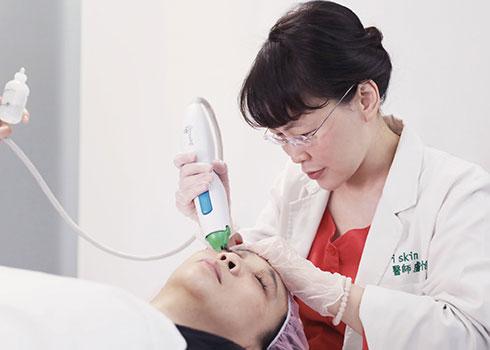 碧眼探頭-有效擊退眼周細紋、眼皮鬆弛及3C產品造成的眼周老化現象。