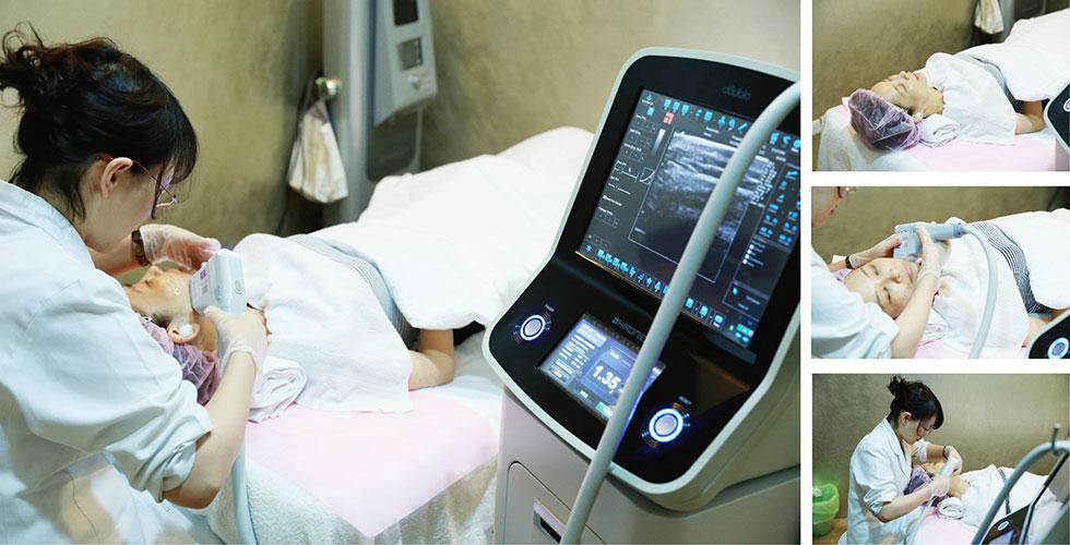 透過即時顯影,醫師能夠更精準的操控能量以及作用深度,療效更佳哦。
