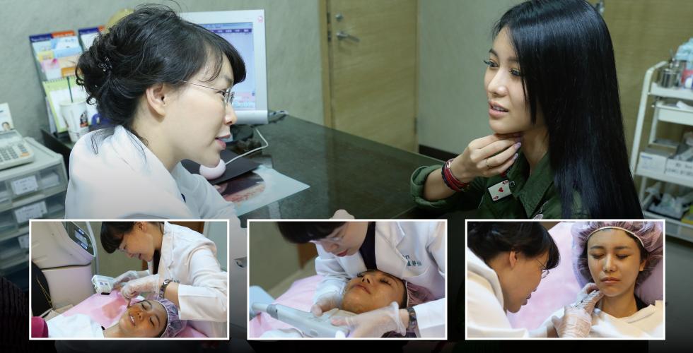近看盧醫師的皮膚實在太有說服力了,感謝好姊妹Patty帶我認識盧醫師。