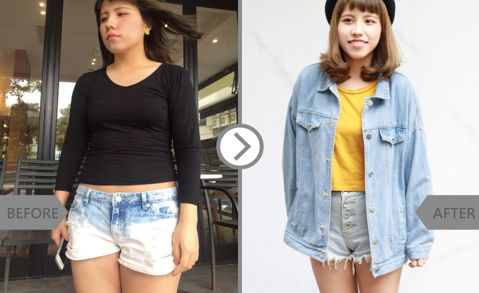 大腿內側的肉最難瘦了,穿短褲都讓我很沒自信,所以身為iSkin一份子,我一定要嘗試酷塑,永久減掉脂肪。