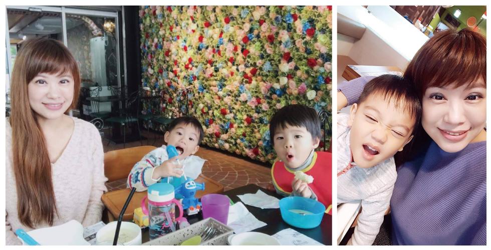 平時我就陪著我的寶貝們到處吃吃喝喝,和他們在一起是我最開心的時間了。