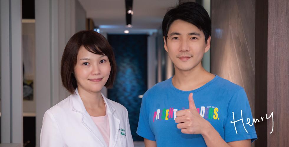 陳清筠醫師真的充滿氣質,而且臉上的肌膚充滿光澤感,沒什麼毛孔細紋,看到醫師本人皮膚也那麼好,更加深我變好的動力了。