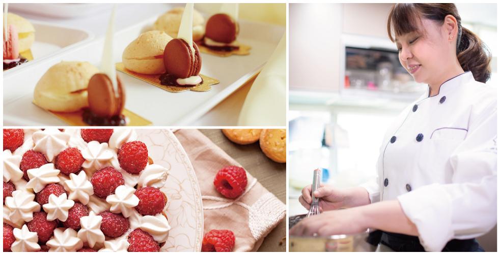 做甜點對我來說是一種享受,不僅講究著味覺上的愉悅,視覺上也不可以忽略
