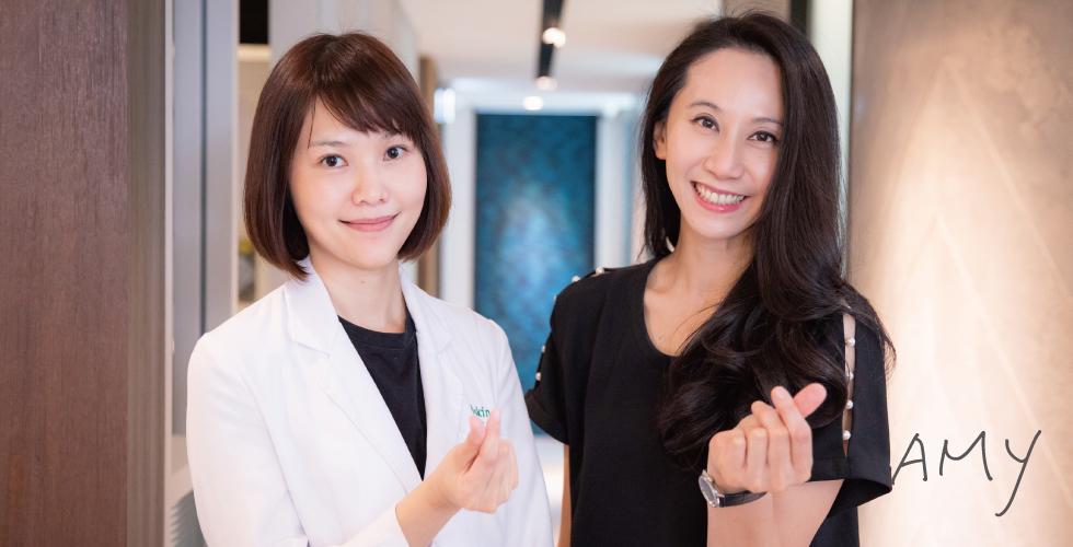 聽說陳醫師也是兩個孩子的媽,但看起來根本不像啊~本人真的超像少女的