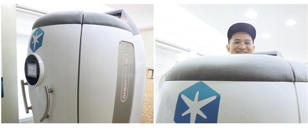 <strong>極地</strong>™冷凍艙以高科技養身法著稱,只用3分鐘,就能達到傳統冰浴1小時的效果。