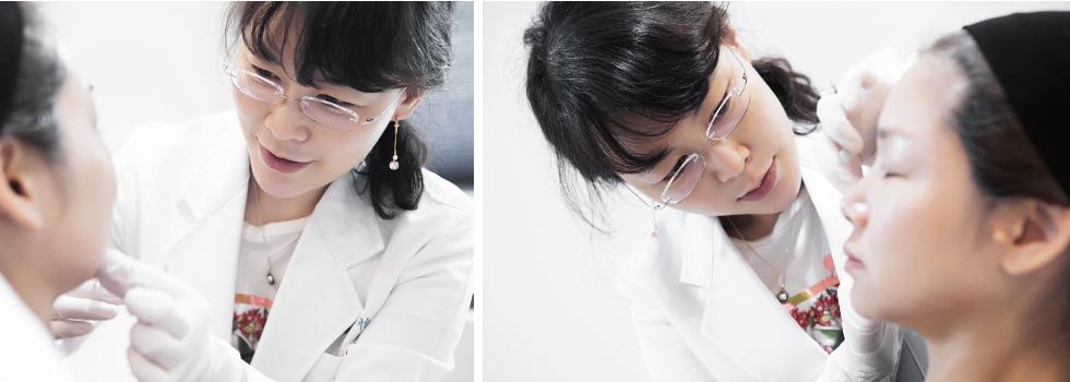 像填補玻尿酸這種微整形,不僅檢驗專業醫師的經驗,更考驗她的美感。