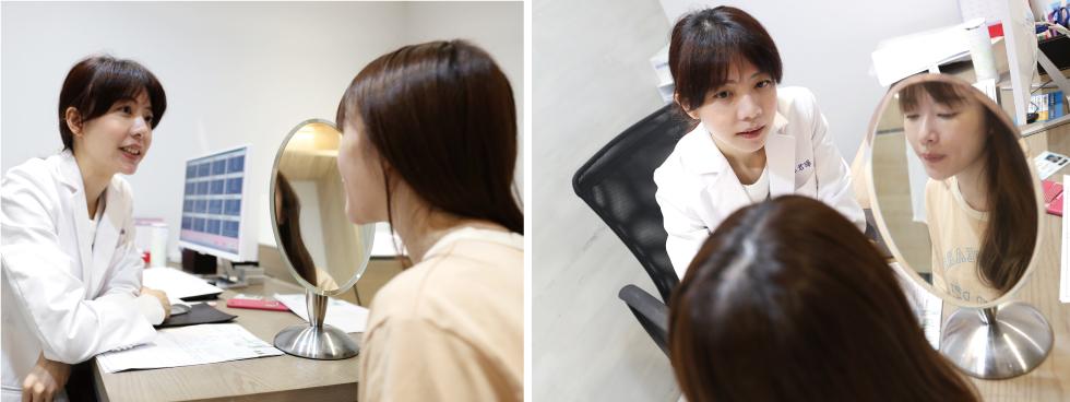 諮詢過程中,林君曄醫師解釋,不只是掃除黑色素,皮秒雷射還能刺激膠原蛋白增生,幫助肌膚由內到外徹底更新,對於緊實肌膚、細緻毛孔也有良好的治療效果喔~