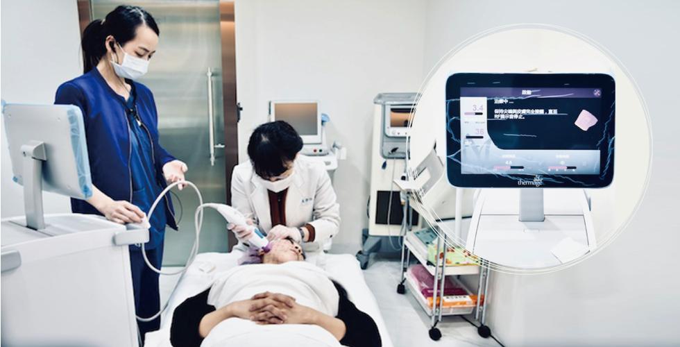 機器上會顯示目前打的發數,醫師可以狠精確知道目前施打的狀況!